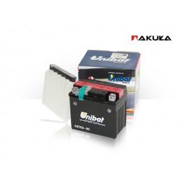Akumulator Unibat CBTX9-BS (YTX9-BS) + elektrolit